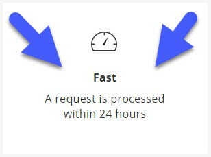 Fast request process