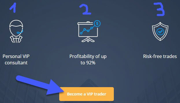 OlympTrade VIP account