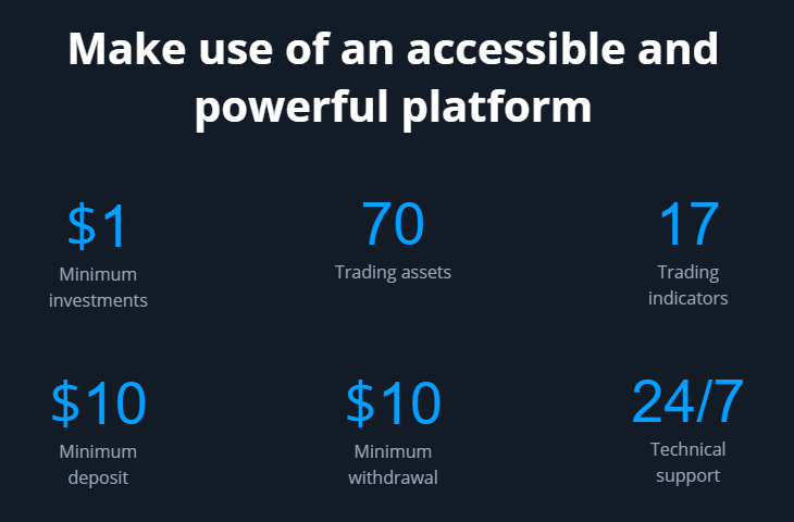 OlympTrade Powerful platform