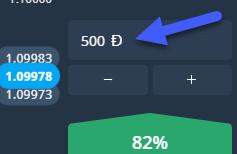 OlympTrade Trade amount