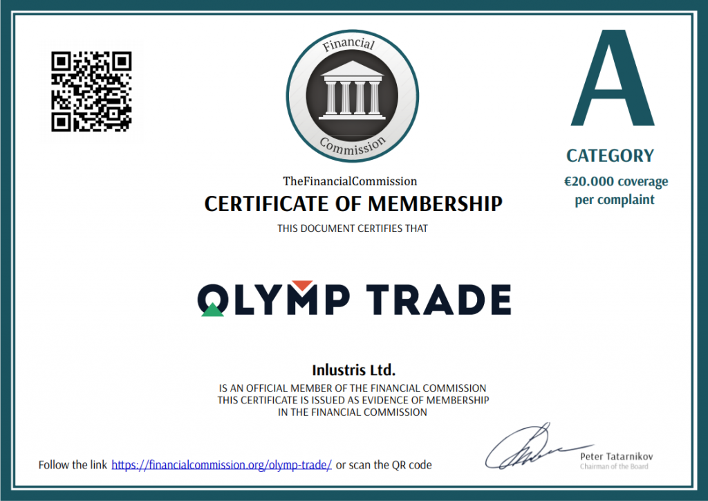 OlympTrade Category A broker